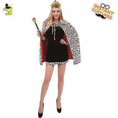 Cruella Deville Capes,Halloween Costumes,Capes,Dalmatian Capes,Faux Fur Cloaks,Costumes