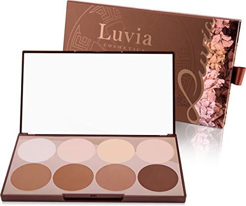 Luvia Contouring Palette - Prime Contour Mit Extra Leicht Verblendbarem Setting Powder, Bronzer, Kontur Puder & Highlighter Make-Up Für Jeden Hauttyp - Geschenk für Frauen - Geschenkidee