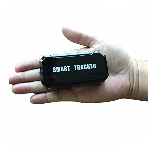 LM003 Vehicle Car GPS Tracker Tracking Device, Real Time Positioning GPS with Strong Magnets 120 Days Long Standby GPS Tracker Car Truck Bike GPS Tracking Seniors for Free App