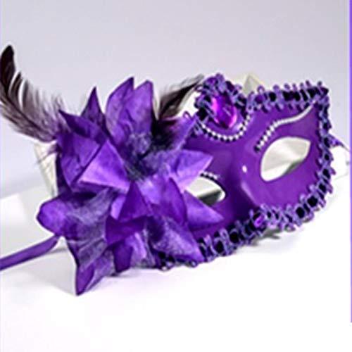 Huoqiin Kerstmis oplichtend masker voor mannen, voor Halloween, feestje, kinderdag, rekwisieten