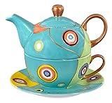 Aricola Tea for One - Teeset Susi mit 400ml. Handbemaltes