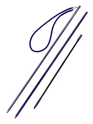 Evolve Aftershock Travel Pole Spear for Spearfishing, Free Diving and Scuba Diving (7ft, Slip-Tip)