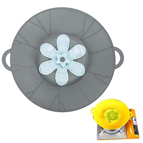 1 tappo di copertura in silicone per tappo di troppopieno coperchio coperchio coperchio per pentole e pentole bollire cucina