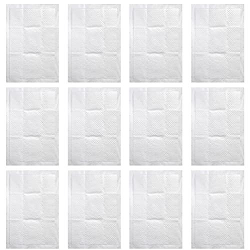 Toddmomy 12 Unidades de Almohadillas Desechables para Cambiador de Orina para Mujeres Embarazadas Almohadillas Interiores para Incontinencia Multiusos Almohadillas para Cama 90X60cm
