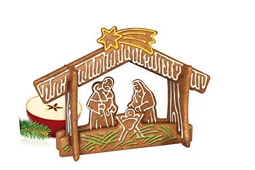 Tescoma 631426 Delicia Set Tagliabiscotti Piccolo Presepe Di Natale