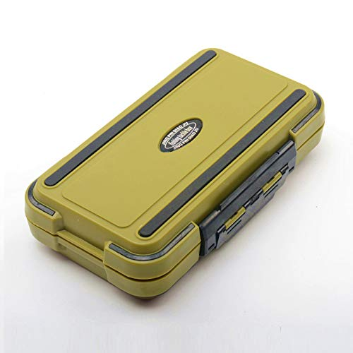 LESOVI Tackle Box, Waterproof Portable Tackle Box Organizer with Storing Tackle Set Plastic Storage - Mini Utility Lures Fishing Box, Small Organizer Box Containers for Trout