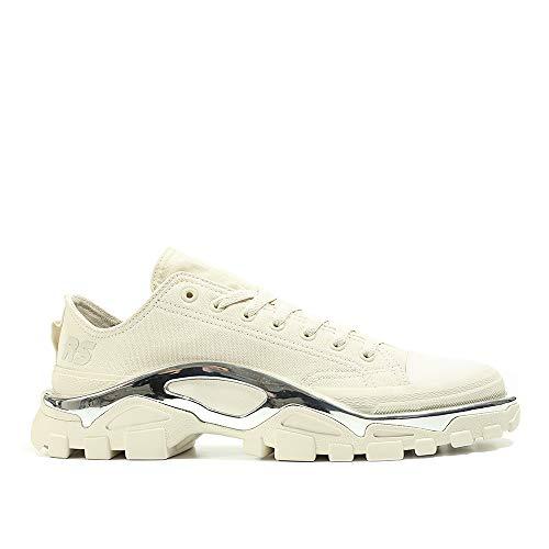 adidas by RAF Simons Detroit Runner (Sand/Silber) EU 46 2/3 / US 12