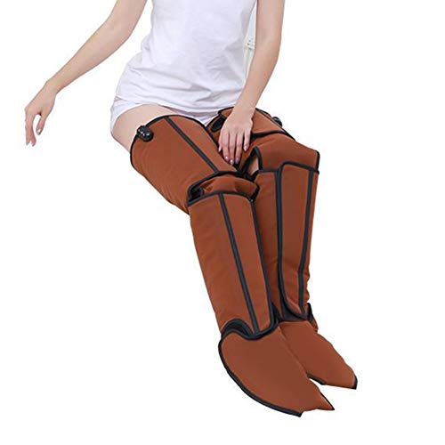 WILLQ Foot and Calf Massager with Heat to Improve Blood Circulation, with a Portable Controller, for Calves, Feet, and Thighs Leg Massage Device Against Swelling and Tired Legs