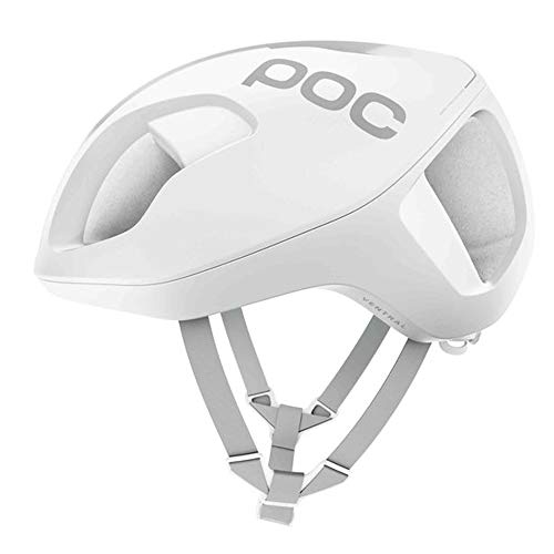 POC, Ventral Spin, Cycling Helmet, Hydrogen White Matte, M