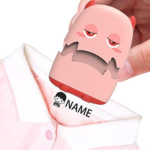 Sello Personalizado, Sello De Nombre, Nombre Personalizado De Dibujos Animados Lindo Para NiñOs, Logotipo De Bebé, Sello De Firma Para Ropa, Estampa Su Nombre En Las Camisetas De Los NiñOs