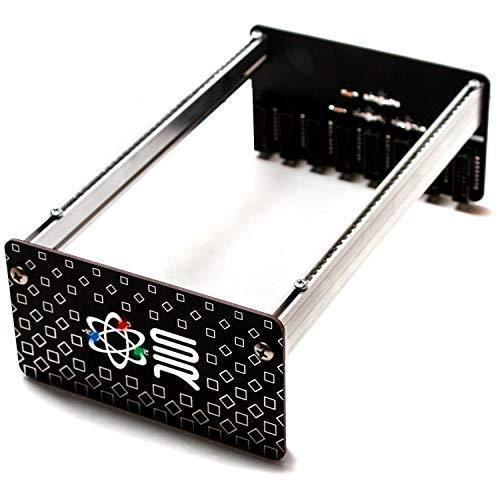 Best Bargain Synthrotek Bus Cheeks DIY Kit - Eurorack rails, cheeks and bus board in one! (104HP, 50...