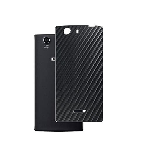 VacFun 2 Piezas Protector de pantalla Posterior, compatible con BLU Life One (2015), Película de Trasera de Fibra de carbono negra Skin Piel