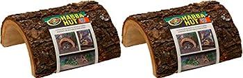 Habba Hut for Terrariums [Set of 2] Size  Medium  5 L x 5.5 W x 3 H