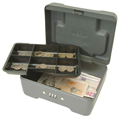 Helix 8'/20cm Premium Combination Cash Box - Mercury