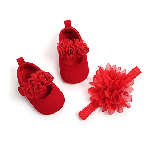 Red Infant Dress Shoes