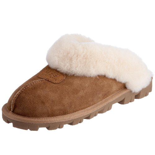 UGG Coquette Slippers, 11M, Chestnut