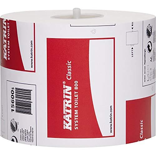Toilettenpap.800 Katrin-System 2-lg.we 800Bl/Rolle 36Rollen