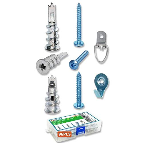 2021 model Self-Drilling Zinc supreme Drywall Anchors with Kit Hollow-Wall Screws