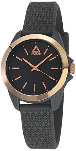 REEBOK Damen Analog Quarz Uhr mit Silikon Armband RD-PRI-L2-PAIA-A3