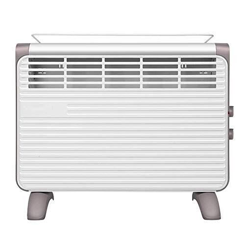 Calentador de radiador por convección - 3 configuraciones de calefacción (600/1300 / 1900W) con oscilación silenciosa de protección contra sobrecalentamiento de vuelco - para el hogar y la Oficina