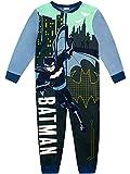 DC Comics Pijama Entera para Niños Batman Azul 7-8 Años
