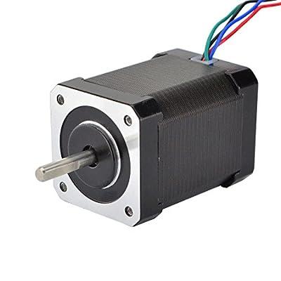 STEPPERONLINE High Torque Nema 17 Stepper Motor 65Ncm 2.1A 4-lead for DIY 3D Printer/CNC Extruder