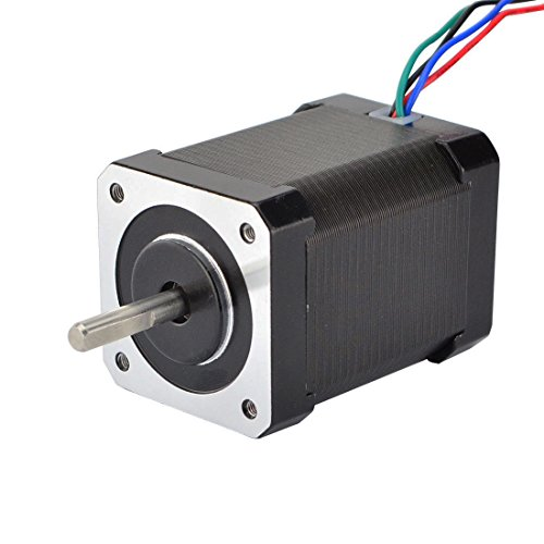 STEPPERONLINE High Torque Nema 17 Bipolar Stepper Motor 92oz.in/65Ncm 2.1A Extruder Motor