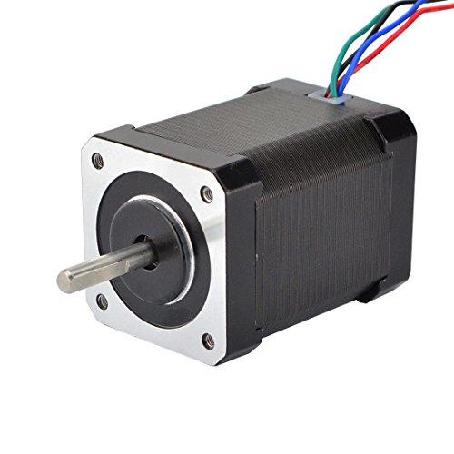 STEPPERONLINE Nema 17 Schrittmotor Bipolar 1.8deg 65Ncm 2.1A 42x60mm 4 Drähte für 3D DRUCKER/DIY CNC