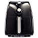 BELLA 14538 2.6 Quart Air Convection Fryer Black (Renewed)