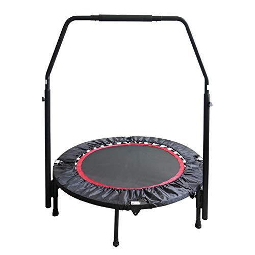 GWLTV Hogar trampolín trampolín de Gimnasia para Adultos Deportes de Interior Plegable Cama elástica cojinete 400 kg