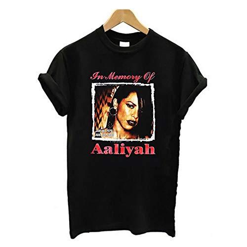 Aaliyah RIP Rap Tee Unisex T Shirt Festival trendy hip hop Fashion Fleek