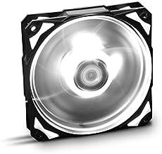 Nox H-FAN - NXHUMMERF120LW - Ventilador para Caja PC, 120 mm, LED Blanco