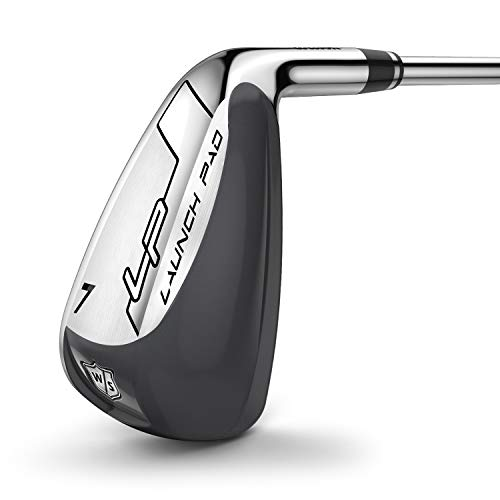 Wilson Men's W/S Launch Pad Irons 4 Golf Irons, A-flex, For Right-Handed...