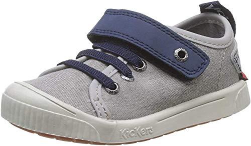 Kickers Zhou, Zapatillas para Niños, Gris (Gris Marine 121), 24 EU