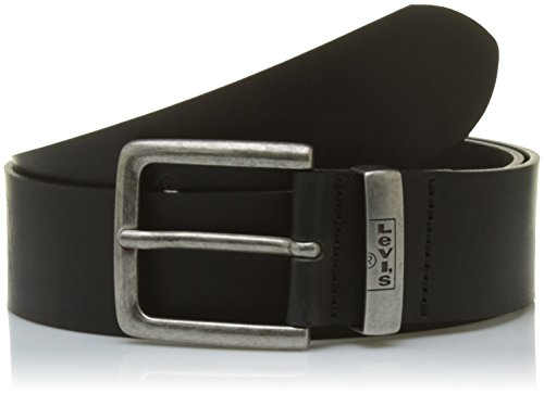 LEVIS FOOTWEAR AND ACCESSORIES New Albert Cinturón, Negro (Black), 95 para Hombre