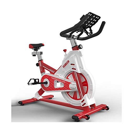 XJWWW-URG Ciclo 3-en-1 Bicicleta estacionaria Cubierta de Bicicleta de Ejercicios con App Y Corazón Monitor Machine Inicio Ejercicio de Cardio URG (Color : Red)
