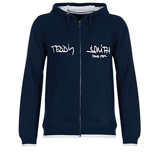 Teddy Smith Herren Giclass Hoody Umstands Sport Hoodie, Blau (Dark Navy 351), Medium