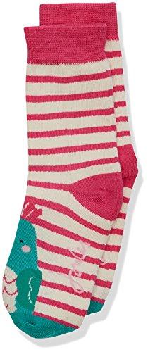 Joules Mädchen Neat feet Socken, Rosa (Sittich), Small