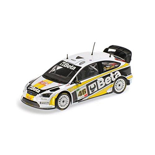 Minichamps- Miniature-Ford Focus WRC Stobart-Rossi/Cassina-Rallye Monza 2008, 400088946