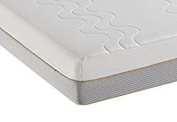 Cool & breathable airmesh sides provide optimum breathability, helping move humid air out and fresh air in, enhancing constant air circulation throughout the mattress. 2.5cm of luxurious memory foam plus 14 cm of breathable Ecocell foam create a bril...