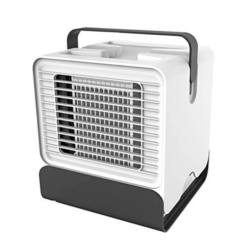VOSAREA Mini ventilatore da scrivania per aria condizionata con umidificatore, dispositivo di pulizia per desktop e aria condizionata