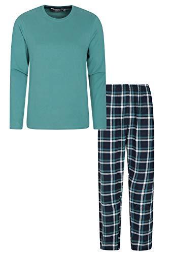 Mountain Warehouse Flanell-Pyjama-Set für Herren - stilvolle Karierte Nachtwäsche,...