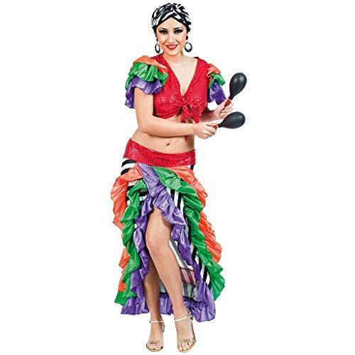 Fyasa 705880-t04brasileña mujer disfraz, tamaño grande