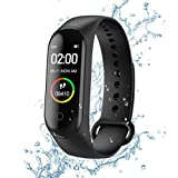 Fitness Tracker, M4 Smart Watch, Contapassi /Fitness /contacalorie /Notifiche di Messaggi,Activity...