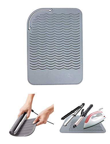 Find Discount Curling Iron Holder, Heat Resistant Silicone Mat, Portable, Fast Chilling, Food Grade ...