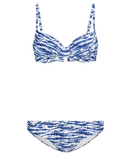 Hot Stuff Damen Bikini blau/Weiss (707) 36B