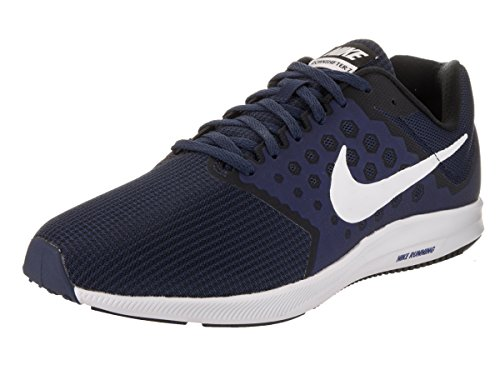 Nike Mens Downshifter 7 (4E) Midnight Navy/White Running Shoe 9 4E Men US