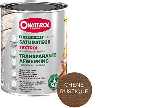Owatrol Textrol Luftbefeuchter für Holz zarten Außerhalb 1L eiche rustikal