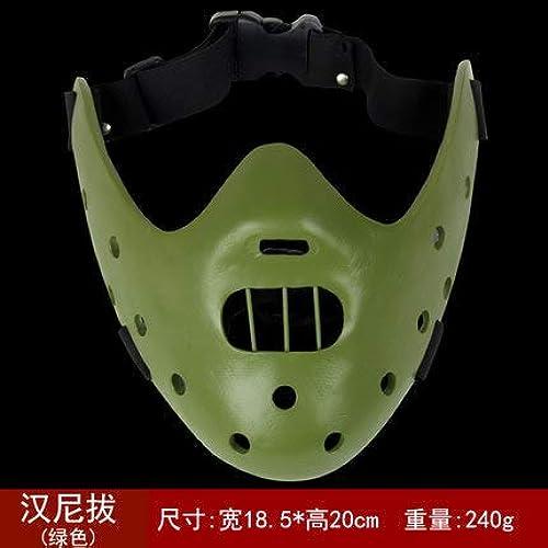 LanMiu Masque en résine Ombre de feu Jason Spiderhomme Sky Invasion Masque décoratif Accessoires Jouer Masque-4