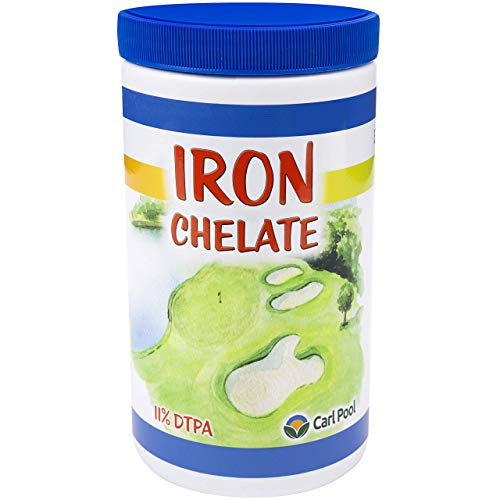 Iron Chelate 1 Lb - Water Soluble - Carl Pool Fertilizers
